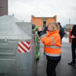 Radní Jana Plamínková navštívila Třídicí centrum