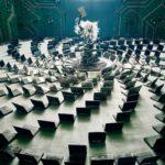 Futuristické fotografie poukazují na problém elektroopadu