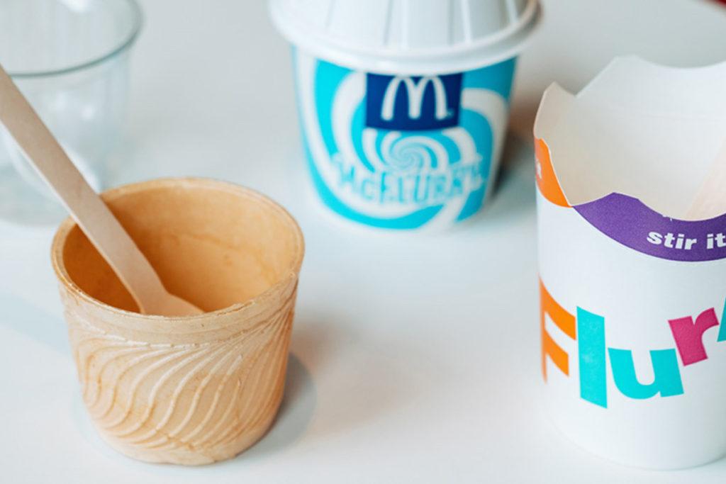 Berlínský McDonald's testoval nové udržitelné obaly. Jaké byly reakce zákazníků?