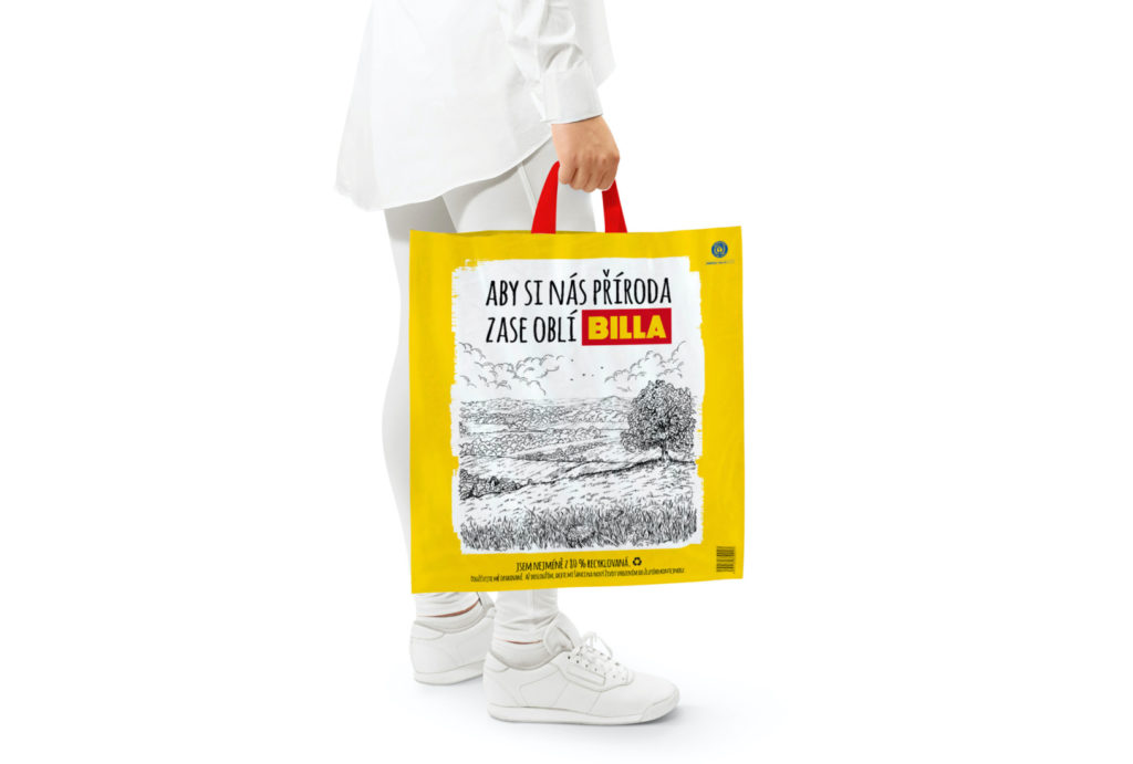 Papírové tašky – experiment, který nevyšel. Billa je nahradí taškami z recyklovaného plastu