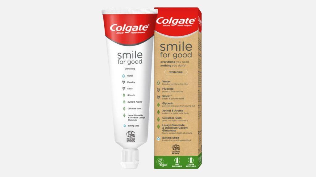 Colgate představil první pastu s recyklovatelným obalem