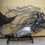 Galerie: Podívejte se, jak turecký umělec mění kovový šrot v impozantní sochy