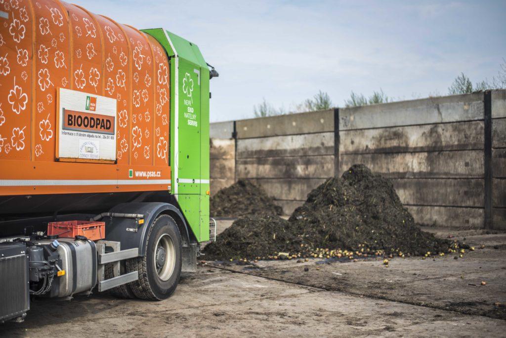 Svoz bioodpadu v metropoli
